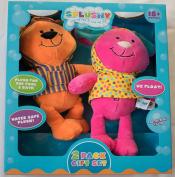Neat-Oh! Splushy Hopper Bunny and Splasher Bear Gift Set