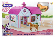 Breyer Stablemates Horse Crazy Stable Set