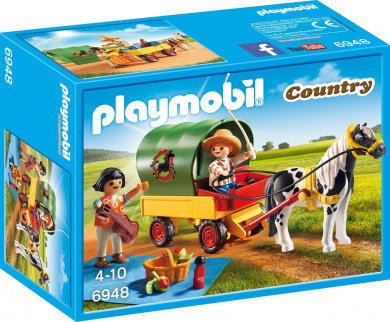 Playmobil Picnic with Pony Waggon