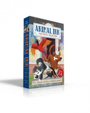 Animal Inn Fur-Tastic Collection Books 1-4: A Furry Fiasco; Treasure Hunt; The Bow-Wow Bus; Bright Lights, Big Kitty! (Animal Inn)