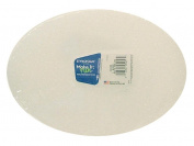 "Floracraft Styrofoam Oval Package 6 3/4x 9"" x 2.5cm White"