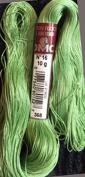 FLOCHE-DMC COTON FLOCHE A BRODER-colour-368-MEDIUM GREEN