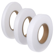 Shappy Fabric Fusion Tape Hem Tape Adhesive Iron-on Hemming Tape Roll 10 mm, 15 mm, 20 mm for Clothes, 70 Yards, 3 Pieces