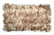 R & M Industries dba Edie 2990D Baby Cabbage Decorative Toss Pillow,Platinum,Medium