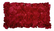 R & M Industries dba Edie 2990D Baby Cabbage Decorative Toss Pillow,Red,Medium