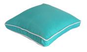 EDIE 2569SBCP Decorative Indoor/Outdoor Cushion, Aqua, Medium