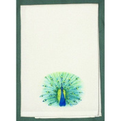 Betsy Drake GT758 Peacock Guest Towel
