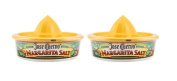 Original Jose Cuervo Margarita Salt with Juicer & Rimming Lid - 180ml, 2 Pack