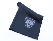 41cm x 60cm Naturally Antibacterial Bamboo Charcoal Fitness Towel - Quick Drying and Odour Resistant