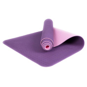 XUANOU 6MM Thick Durable Non-slip Yoga Mat Exercise Lose Weight Fitness Pad