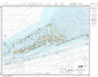 Synthetic Media NOAA Chart 11442: Florida Keys Sombrero Key to Sand Key