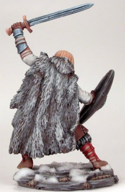 Wildling Warrior w/Long Sword & Shield DSM-50