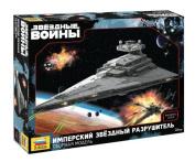 Star wars Imperial Star Destroyer Model 9057 kit in box by Zvezda