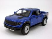 Ford F-150 SVT Raptor 1/46 Scale Diecast Metal Model - BLUE SOLID