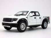 Ford F-150 SVT Raptor 1/46 Scale Diecast Metal Model - WHITE SOLID