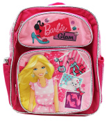 Barbie Glam Makeup and Fashion Themed Small Size Kids Backpack