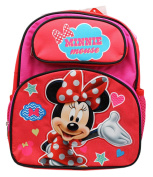 Disney's Minnie Mouse Polka Dot Bow and Outfit Small Size Kids Backpack
