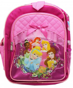 Disney Princess Regal Portrait Pink Coloured Small Size Backpack