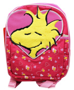 Peanuts Woodstock Valentines Hearts Pattern Small Size Kids Backpack