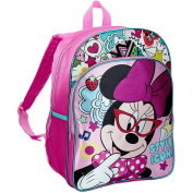 Disney's Minnie Mouse Style Icon 41cm Front Pocket Backpack - Pink