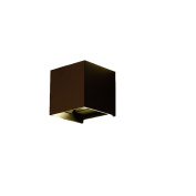 6W LED Wall Light Up and Down Wall Light 3200K Warm White 10*10*10cm