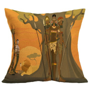 Rukiwa Cute Printed Home Decoration Pillow Case Cushion Cover Fashion