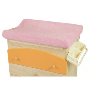 Universal Cover Changing Mat in Sponge pink