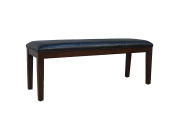 A-America Parsons Upholstered Bench in Black