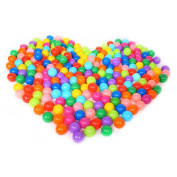 100pcs Colourful Fun Ball Soft Plastic Ocean Ball Swim Pit Toy for Baby Kid