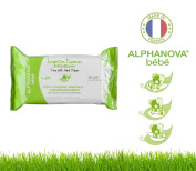 Organic Baby Wipes Paraben- and Alcohol-Free Pack of 72