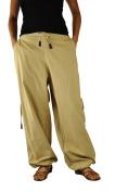 Short and long UNISEX harem pants aladdin pants for men and women as alternative clothing from virblatt S - L - Praktisch