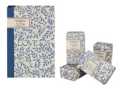 Morris & Co Love is Enough Guest Soaps, 50 g, Pack of 4