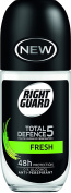 Right Guard Women Total Defence 5 Invisible Anti-Perspirant Roll On, 50 ml, Pack of 6