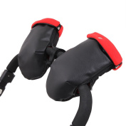 Mittens Chair Paseo Napa Black. Polar Red (Waterproof) tititnins