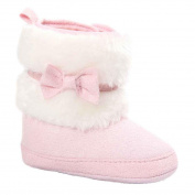 For 0-18 Months ,Clode® Baby Girls Boys Keep Warm Soft Sole Snow Boots Soft Suede Crib Shoes Toddler Boots