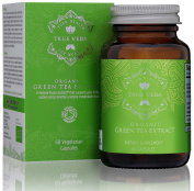 Organic Green Tea Extract Capsules - Certified Organic by Soil Association | 100% Natural Herbal Supplement | Ayurveda | 60 Easy Swallow Vegetarian Pills