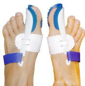 SiChun Bunion Night Splint Big Toe Straightener Hallux Valgus - 1 Pair