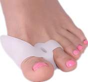 SiChun Bunion Relief Pack - 2 Bunion Pads Toe Spreaders - For Pain Relief and Proper Toe Alignment - Left & Right