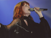 FLORENCE WELCH FLORENCE AND THE MACHINE Signed 12x8 Photo IMG02 AUTHENTIC + COA