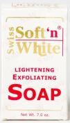 Swiss Soft N White Lightening Exfoliating Soap