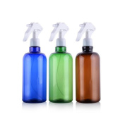 500ml/16.6OZ Refillable Empty Spray Bottles Sprayers Jars for Makeup Cosmetic Bath Shower Toiletries Liquid Containers Leak Proof Portable Travel Accessories