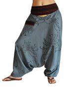 virblatt harem pants unisex aladdin pants alternative clothing S-L - Traumtänzer