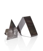 Triangle Shape - Stainless Steel Mousse Cake Ring Mould Cutters DIY Ideal for Valentines