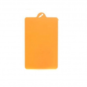 ODN Kitchen Cooking Tools Flexible Plastic Cutting Board,Orange