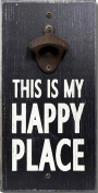 My Word This is My Happy Place Bottle Opener, 15cm x 30cm