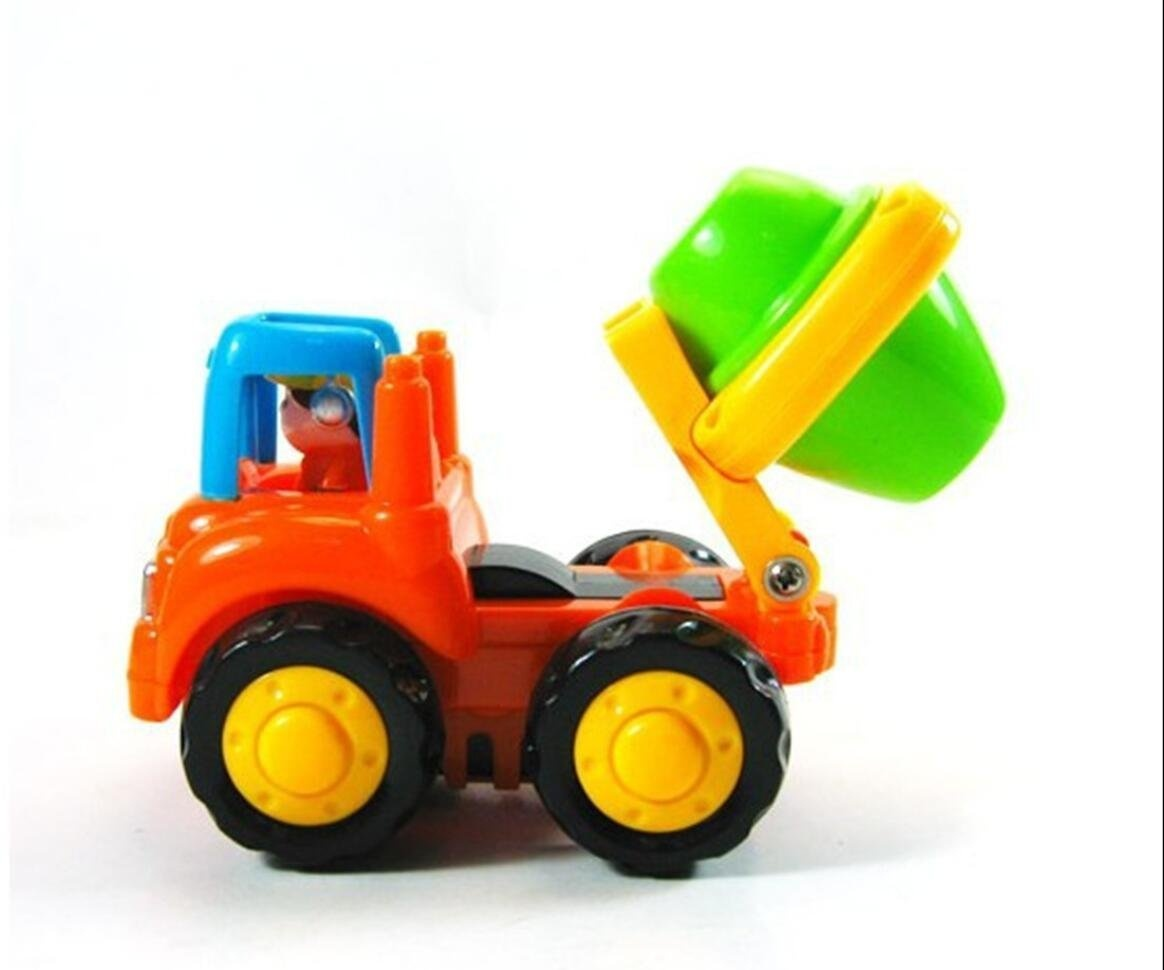 Push Toys For Toddlers : Lidodo friction powered cars push go car construction vehicles