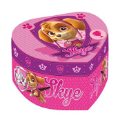 Paw Patrol - Paw Patrol PW16054 Jewellery heart-shaped musical box with mirror of Skye