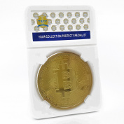 TACC Commemorative Coin Collection Golden Bitcoin BTC