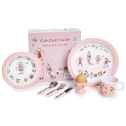 CUPCAKE FAIRY - 7 Piece Melamine set