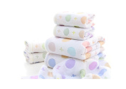 YLL Cotton Bath Towel Towel Set 3PCS Multi-colour Optional Beach Towels Cotton Thickening,Multi-coloured
